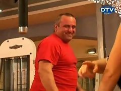 Funny Porn Video - Tits in Gym
