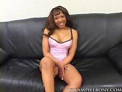 Creampie Ebony Pebbles