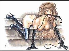 BDSM Art Samples from Debbienomad
