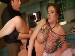 BBW Gets Pounded On Her Counter