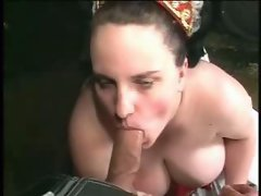 Banging A BBW In The Cellar
