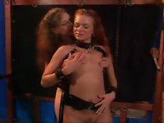 BDSM lesbian play
