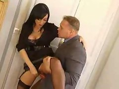 Melissa Lauren Drilled By Her Boss