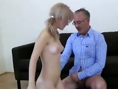 Slut in boots fucked by older British guy