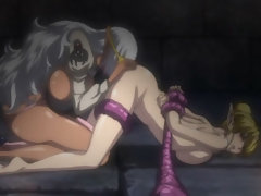 Muscular hentai shemale hot fucked
