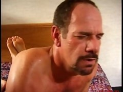 Cowboy in a motel with a whore &amp, spycam - 2 of 2