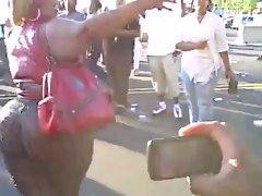 Spicee Cajun: OMG! HUGE Black Ass BBW in Public - Ameman