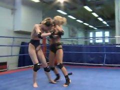 Lesbian Nude Fight Club 4