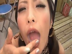The best ASW-076 Shizuka Kanno big swallowing cum by M.D.F.