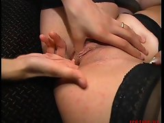 Threesome fucking after business meeting - 1 of 2