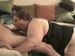 Cumshot Compilation - Deepthroat BBW Slut Swallows 7 Men