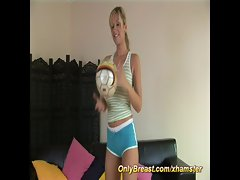 sporty big breast girls