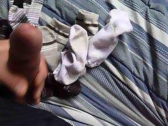 cum  stinky socks