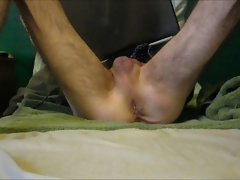 Solo Jerk with 2 Prostate Toys Part 1