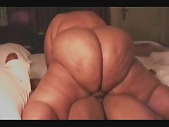 SSBBW Redbone rides the dick too good.
