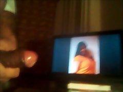 Masturbating to Indian Actress Aarthi Agarwal