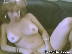 Dirty Crack Whore Jacking Off Two Guys For Cash