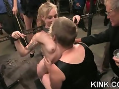 Intense, sexy and scary scene