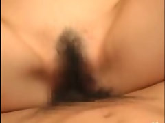 Asian business lady gets her pussy pounded