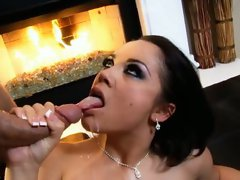 Opening up her pink Kristina Rose will provided as she's getting ass pounding