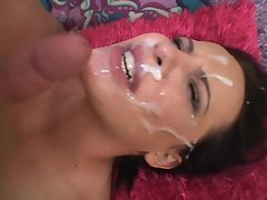 Katie St Ives gets a massive man facial