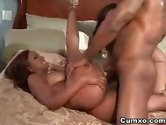 Ghetto Hot Threesome FFM Ebony Sex