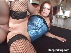 Charming and horny slut gets hard