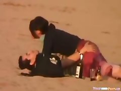 Crazy Girl Rides Her BF In Public