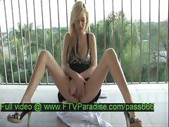 Alexa tender hot naked blonde babe dresses