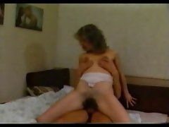 Hirsute Mama Banged BY HER Filthy DUDE