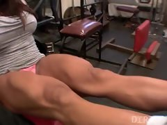 Twat Play in the Gym