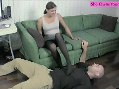 Kinky CoWorkers Part 2 Preview Foot Sucking Ballbusting