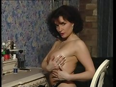 Lewd Dark haired Chesty Mum Teasing in various outfits V SEXY!