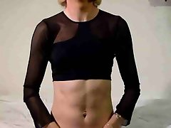 Mature crossdresser shemale