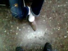 Mi  muy divina amiga de nuevo acariciandome con su pies 7