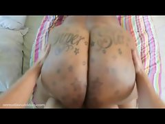 BBW Superstar Gets Her 70 Inch Ass Oiled and Fucked