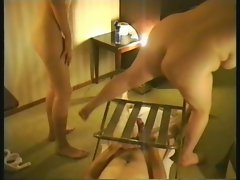 British chubby in threesome