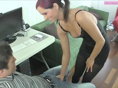 Teasing Ballbusting Face Sitting Ashely Sinclair preview 1