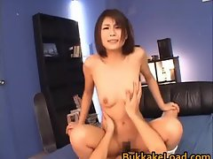 Azumi Harusaki Hot Japanese bukkake part2
