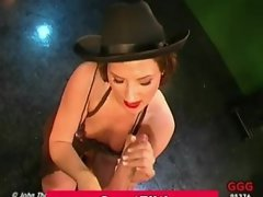 German cum guzzling greedy slut