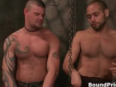Derrick and Leo in horny extreme gay part2