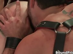 Guy bound and hung on ceiling part1