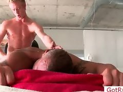 Pierced massage pro getting ass fucked part6