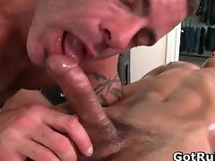 Massage pro gets his fine ass fucked part1