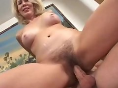 Hot MILF does everything