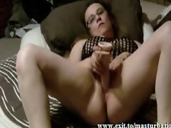 BBW Miranda solo with my fingers and dildo
