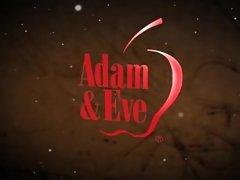 AdamandEve.com Elegant and Classy Style Red Heart Glass Dildo Sex