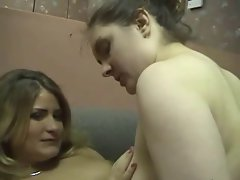 Fat Chubby Lesbians Masturbating, Kissing and Pussy Play