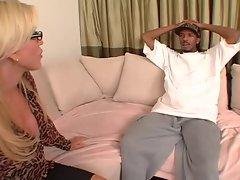 Hot Mom Amber Lynn&amp,#039,s BBC Takeover Bid