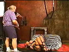 Extreme tit hanging by Petseus